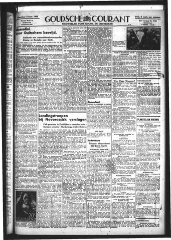 Goudsche Courant 1943-09-13