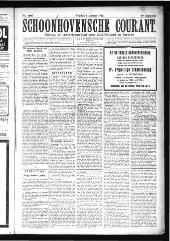 Schoonhovensche Courant 1923-01-05