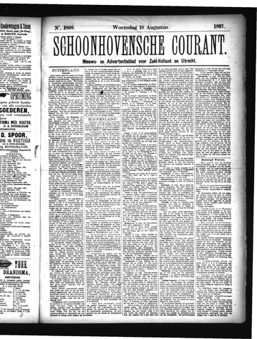 Schoonhovensche Courant 1897-08-18