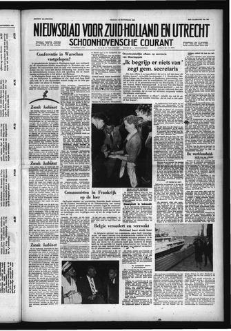Schoonhovensche Courant 1958-09-26
