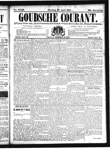Goudsche Courant 1911-04-25