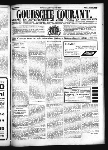 Goudsche Courant 1935-04-27
