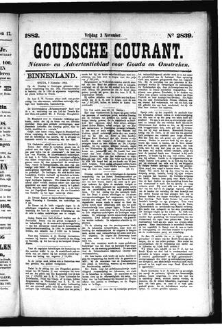 Goudsche Courant 1882-11-03