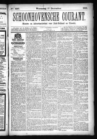 Schoonhovensche Courant 1913-12-17