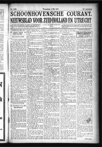 Schoonhovensche Courant 1927-05-04
