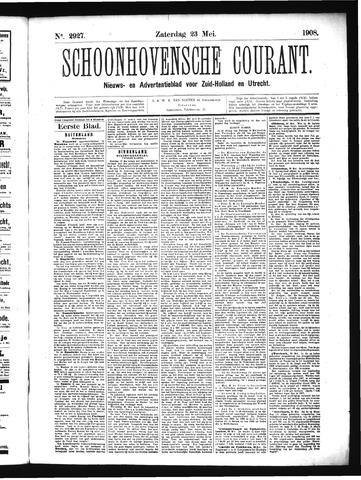Schoonhovensche Courant 1908-05-23
