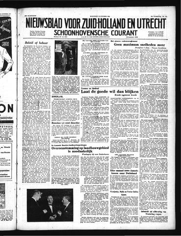 Schoonhovensche Courant 1950-10-18