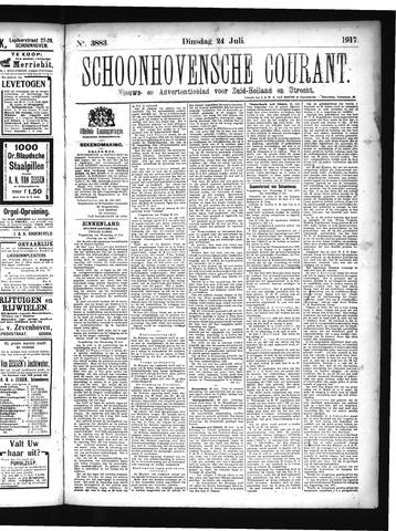 Schoonhovensche Courant 1917-07-24