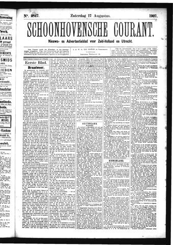 Schoonhovensche Courant 1907-08-17