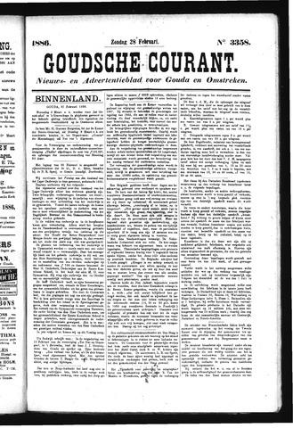 Goudsche Courant 1886-02-28