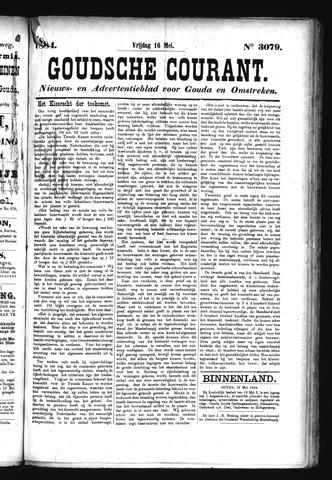 Goudsche Courant 1884-05-16