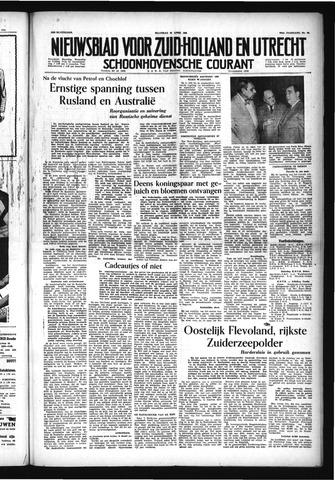 Schoonhovensche Courant 1954-04-26