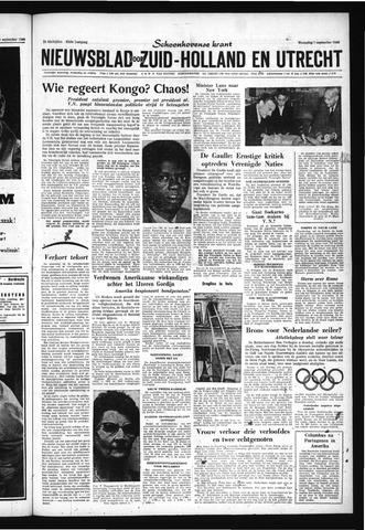 Schoonhovensche Courant 1960-09-07