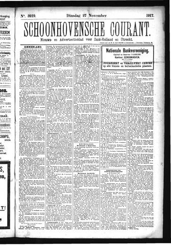 Schoonhovensche Courant 1917-11-27