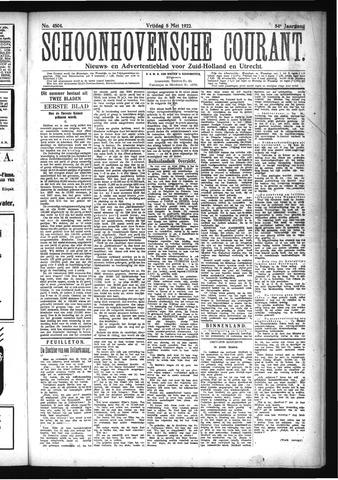 Schoonhovensche Courant 1922-05-05