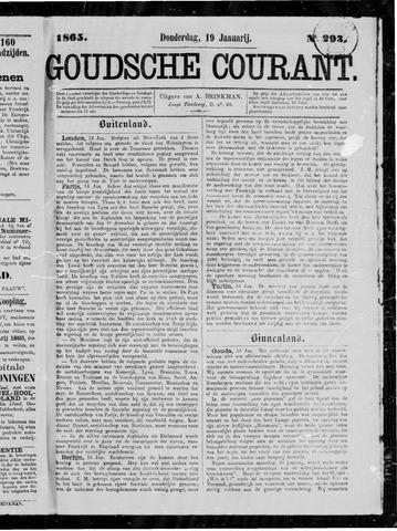 Goudsche Courant 1865-01-19