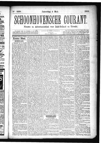 Schoonhovensche Courant 1912-05-04