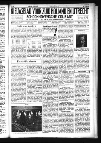 Schoonhovensche Courant 1934-05-14