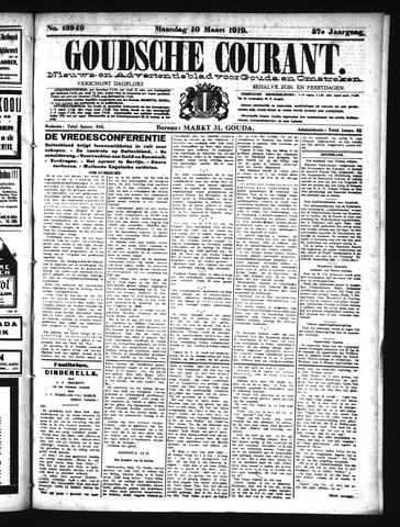 Goudsche Courant 1919-03-10