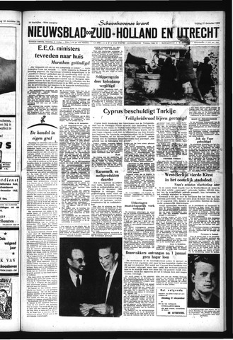 Schoonhovensche Courant 1963-12-27