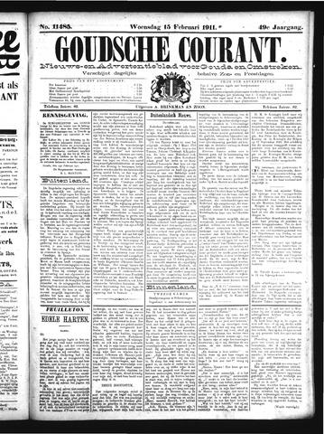 Goudsche Courant 1911-02-15