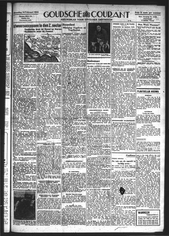 Goudsche Courant 1944-02-14