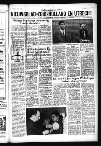 Schoonhovensche Courant 1965-02-24