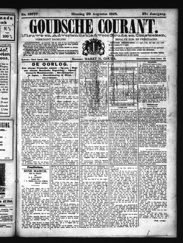 Goudsche Courant 1918-08-20