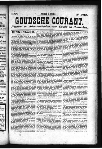 Goudsche Courant 1888-10-05