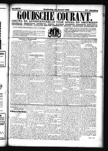 Goudsche Courant 1929-01-24