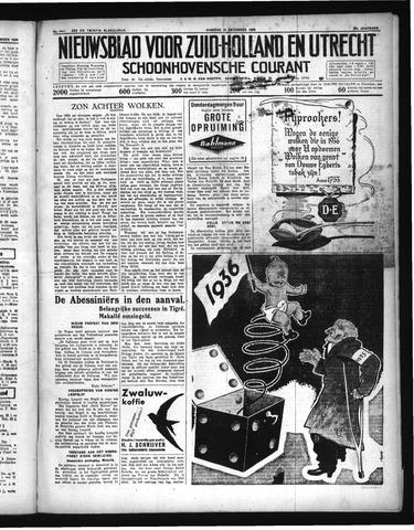 Schoonhovensche Courant 1935-12-31