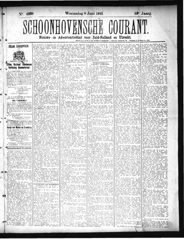 Schoonhovensche Courant 1921-06-08