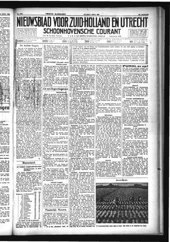 Schoonhovensche Courant 1933-04-07