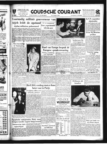 Goudsche Courant 1953-09-25