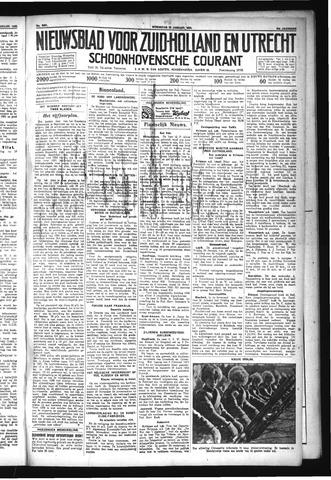 Schoonhovensche Courant 1932-01-20