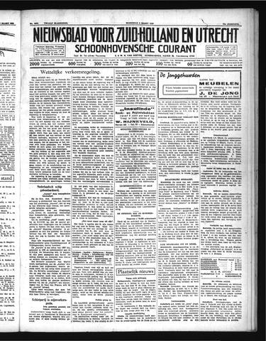 Schoonhovensche Courant 1939-03-08