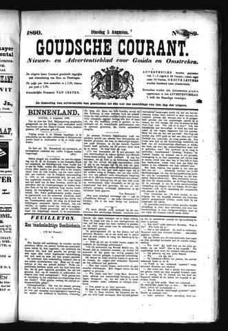 Goudsche Courant 1890-08-05