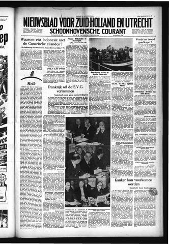 Schoonhovensche Courant 1954-08-20