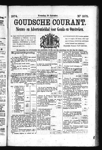 Goudsche Courant 1874-09-30