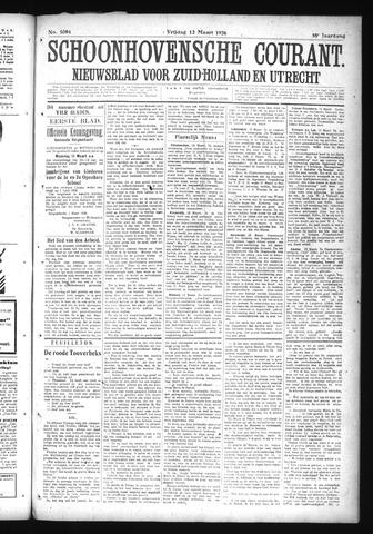 Schoonhovensche Courant 1926-03-12