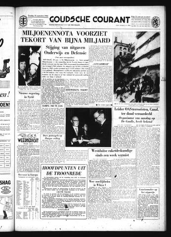 Goudsche Courant 1962-09-18