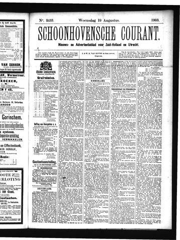 Schoonhovensche Courant 1903-08-19