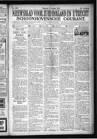 Schoonhovensche Courant 1928-01-23