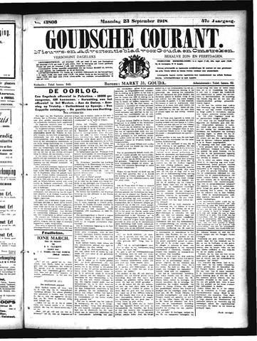 Goudsche Courant 1918-09-23