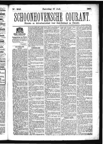 Schoonhovensche Courant 1907-07-27