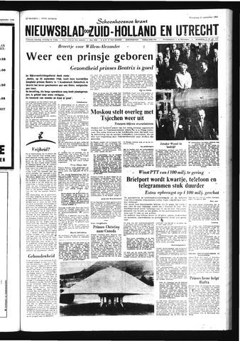 Schoonhovensche Courant 1968-09-26