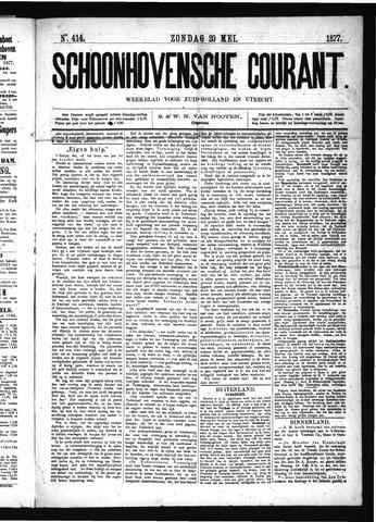 Schoonhovensche Courant 1877-05-20