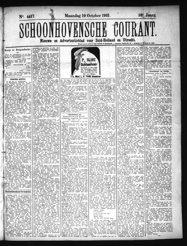 Schoonhovensche Courant 1921-10-10