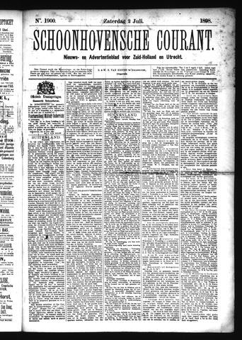 Schoonhovensche Courant 1898-07-02