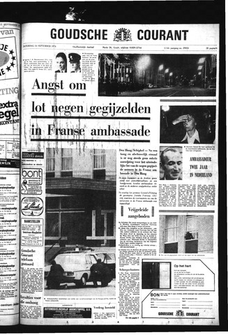 Goudsche Courant 1974-09-14